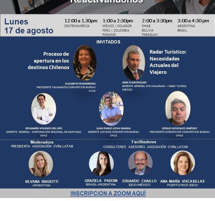"""Corporación Regional de Santiago expuso en el #18 Conversatorio de Burós """"Reactivándonos"""""""