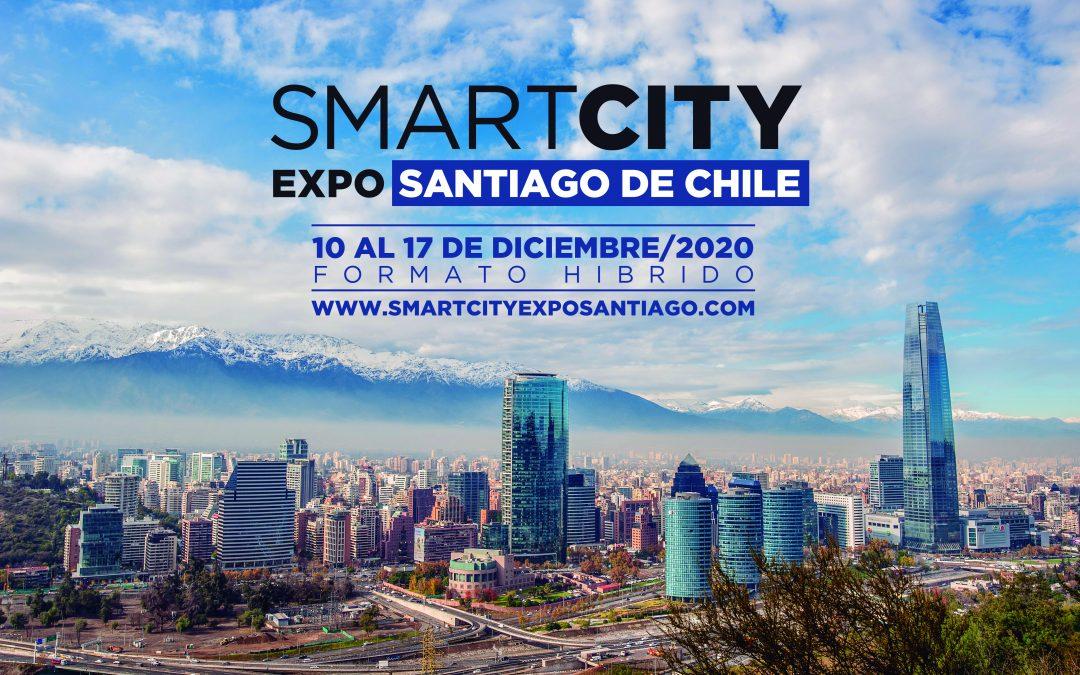 Se confirma para diciembre la Smartcity Expo Santiago de Chile 2020