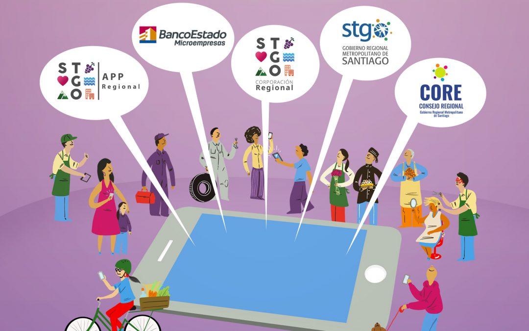 Corporación Regional de Santiago y BancoEstado Microempresas trabajan juntos en beneficio de los emprendedores