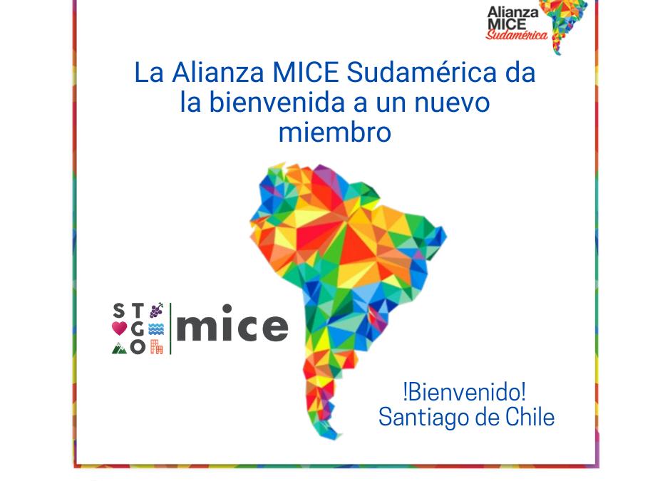 Bureau Santiago MICE se incorpora a la Alianza MICE Sudamérica