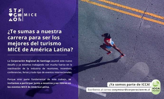 Corporación Regional de Santiago suma nuevos socios para su programa Santiago MICE